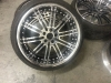 iforge 3piece faboluous vip rims after the wheel repair and silicone work