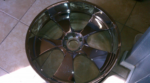 26 inch rim after the makeover  scroll below for more details