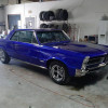 Classic 65 gpontiac gto restomod  full restore candy cobalt blue rimspec allstar team