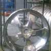 26 inch Chrome wheel Bent and Curb checked(curb rash)