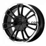 American Racing Speedway Gloss Black Machined