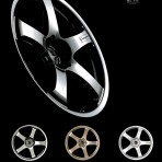 Connisseur No. 51C Wheels/Rims