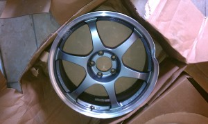 Jdm Wheel Damaged Before