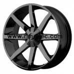 KMC KM651 Slide Gloss Black