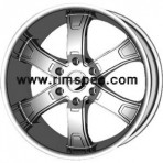KMC KM671 Brodie Chrome