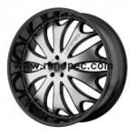 Lorenzo WL29 Gloss Black Machined