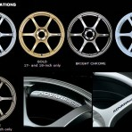 Advan RG2 Gold Wheels/Rims