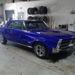 Classic 65 pontiac gto restomod full restore candy cobalt blue rimspec allstar team