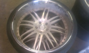 ken-yon brought the set of Savana came in forged wheels need a custom make over and need to be converted from a bmw wheel to mercedes