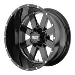 MOTO METAL MO962  GLOSSY SHINY BLACK